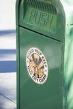 绿色垃圾 库存图片