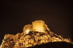 黄色城堡 免版税图库摄影