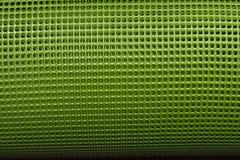 绿色塑料网 免版税库存图片