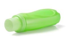 绿色塑料洗涤剂瓶 图库摄影