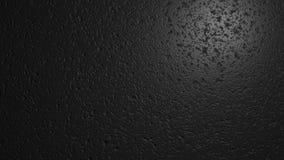 黑色墙壁纹理 与地方的数字式例证文本的 3d回报 免版税库存照片