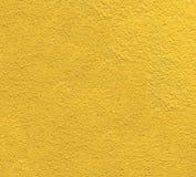 黄色墙壁背景 库存图片