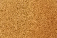 黄色墙壁织地不很细背景 库存图片