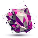 紫色复杂的格子技术连接 库存图片