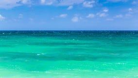 绿色夏威夷海 库存图片