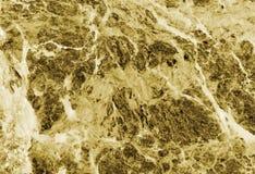 黄色大理石纹理 免版税库存照片