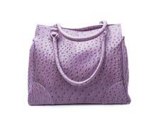 紫色妇女的袋子 免版税库存图片