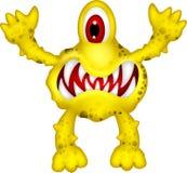 黄色妖怪 免版税库存图片