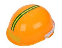 黄色安全帽 免版税图库摄影