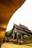 黑色寺庙 图库摄影