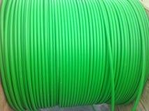 绿色导线 库存图片