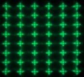 绿色导致矩阵 图库摄影