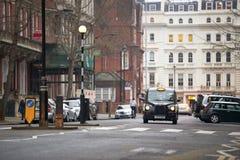 黑色小室伦敦 免版税库存照片
