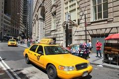 黄色小室,曼哈顿 库存照片