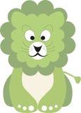 绿色小狮子 免版税库存照片