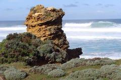 黄色岩石 库存图片
