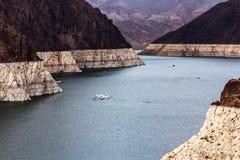 黑色峡谷水坝真空吸尘器塔 免版税库存图片