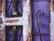 紫色工业 免版税库存照片