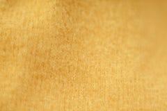 黄色布料 柔软 库存图片