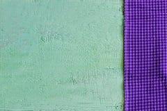 紫色布料 库存照片