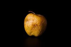 黄色干苹果计算机 免版税库存照片