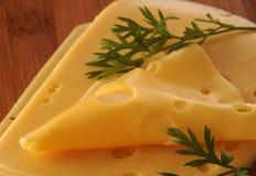 黄色干酪 免版税库存照片