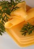 黄色干酪 免版税图库摄影