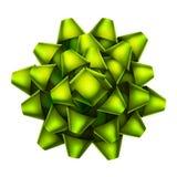 绿色弓顶视图 10 eps 免版税库存照片