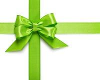 绿色弓 免版税图库摄影