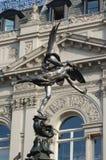 色情伦敦雕象 免版税图库摄影