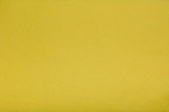 黄色感觉组织布料,特写镜头纹理背景 库存照片