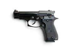 黑色手枪 图库摄影