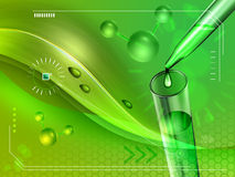 绿色技术 免版税图库摄影