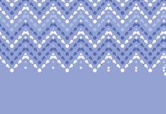紫色投下V形臂章无缝的样式背景 向量例证