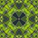 绿色抽象对象美好的几何背景传染媒介例证 库存照片