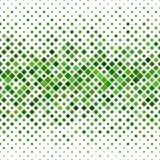 绿色抽象方形的样式背景 图库摄影