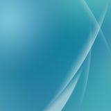 绿色抽象曲线背景 免版税库存图片