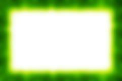 绿色抽象框架 库存图片