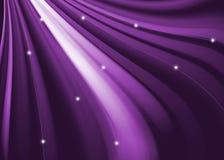 紫色抽象波浪和曲线背景 库存照片