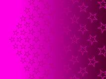 紫色抽象背景,微粒星 免版税库存图片