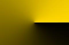 黄色抽象背景 免版税库存照片