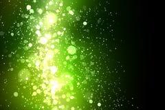 绿色抽象轻的背景 图库摄影