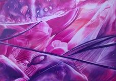 紫色抽象 免版税库存照片