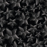 黑色担任主角无缝的样式,几何现代风格repea 免版税库存照片
