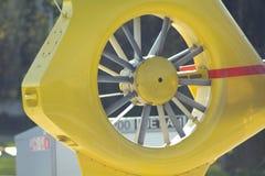 黄色推进器 图库摄影