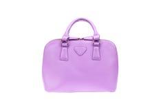 紫色提包 免版税图库摄影