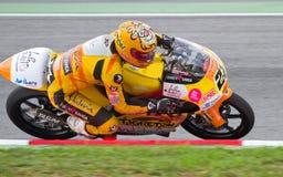 黄色摩托车 库存图片