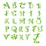 绿色收藏信件  库存照片
