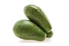绿色新鲜的鲕梨 免版税库存图片