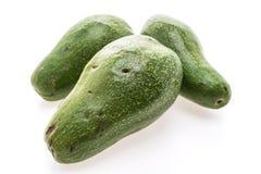 绿色新鲜的鲕梨 图库摄影